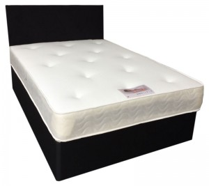 Small Single (2ft6in/76cm) 2 Sided Luxury Memory Foam and Orthopedic Mattress